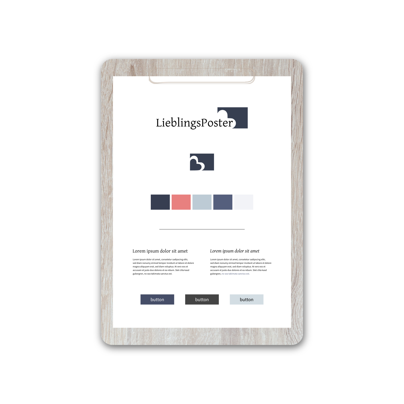 LieblingsPoster | Brand Strategy & Web Design by Red Ruby Sphere