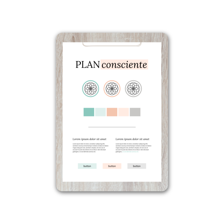 Plan Consciente | Brand Strategy by Red Ruby Sphere