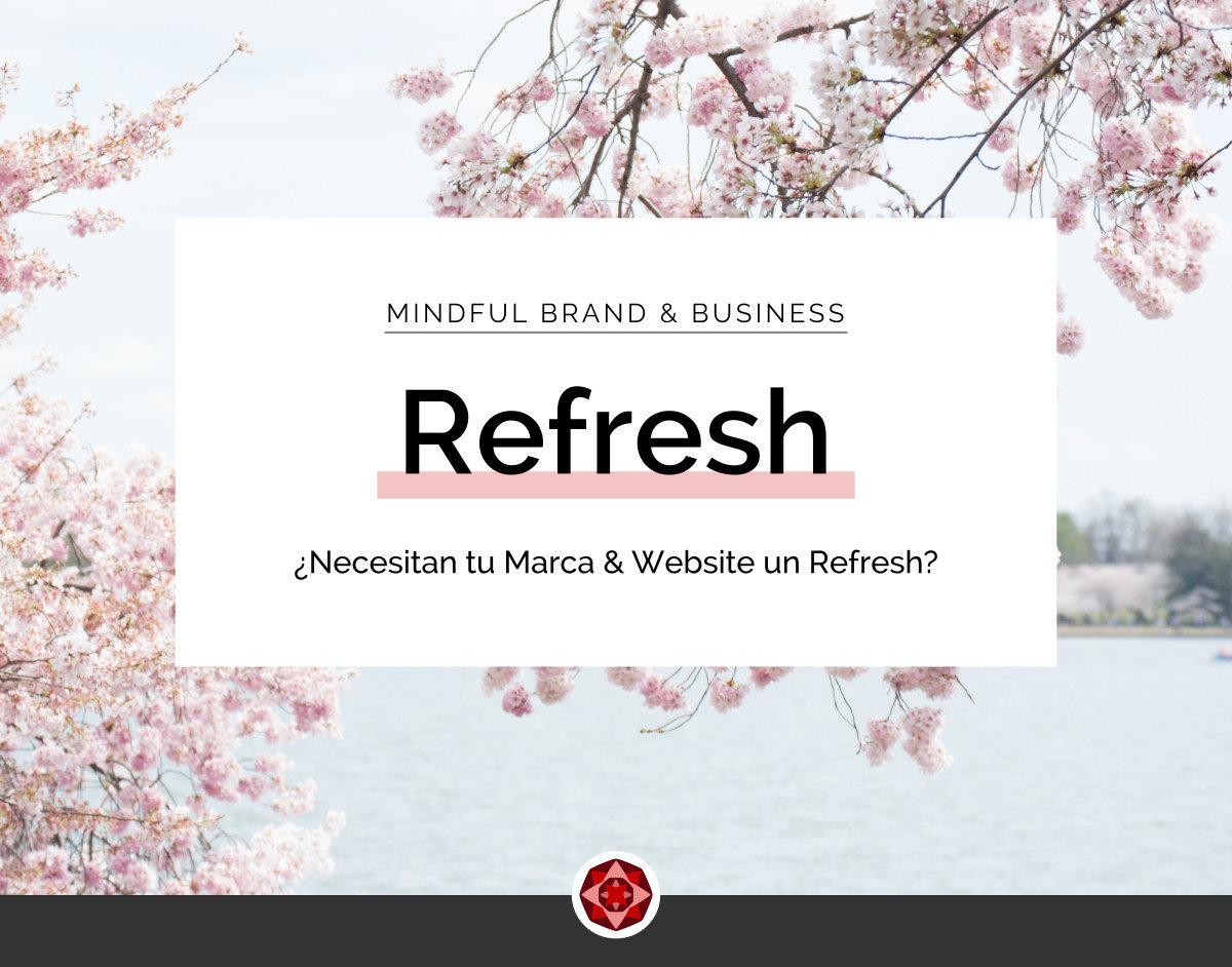 ReFresh - Marca & Website | Red Ruby Sphere | Brand Strategy & Webdesign | Alma Seidel | www.redrubysphere.com