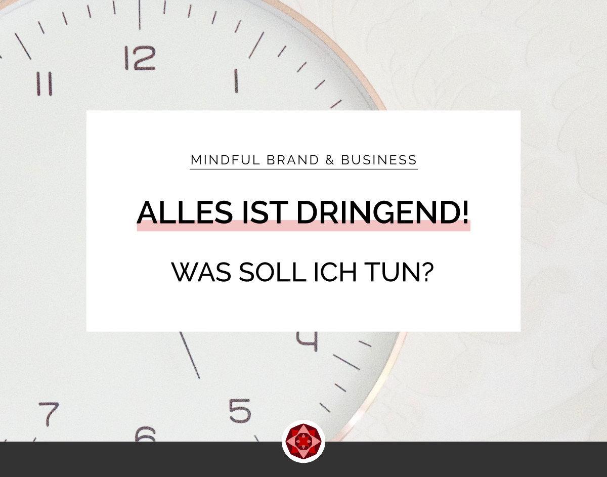 Todo es Urgente | Red Ruby Sphere | Brand Strategy & Webdesign | Alma Seidel | www.redrubysphere.com