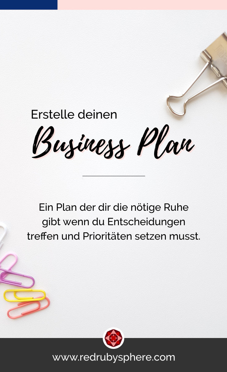 Crea tu Plan de Negocios | Red Ruby Sphere | Brand Strategy & Webdesign | Alma Seidel | www.redrubysphere.com