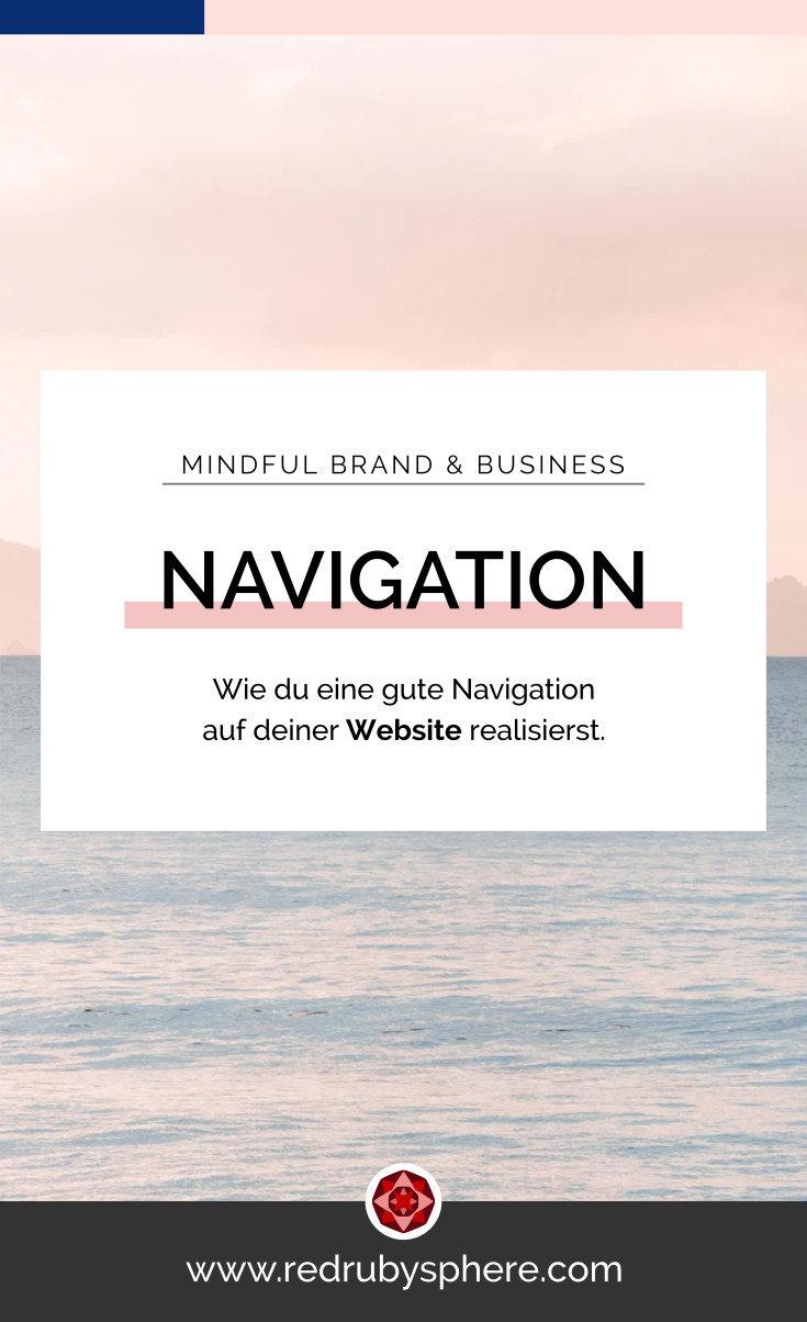 Como lograr una buena navegacion en tu Website | Red Ruby Sphere | Brand Strategy & Webdesign | Alma Seidel