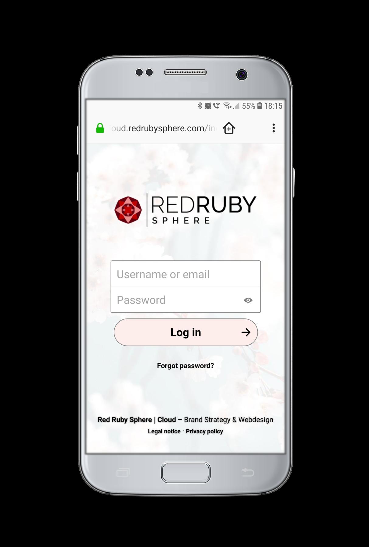 Red Ruby Sphere - Cloud Platform Service