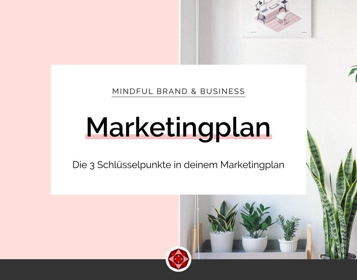 Die drei Schlüsselpunkte in deinem Marketingplan | Red Ruby Sphere by Alma Seidel