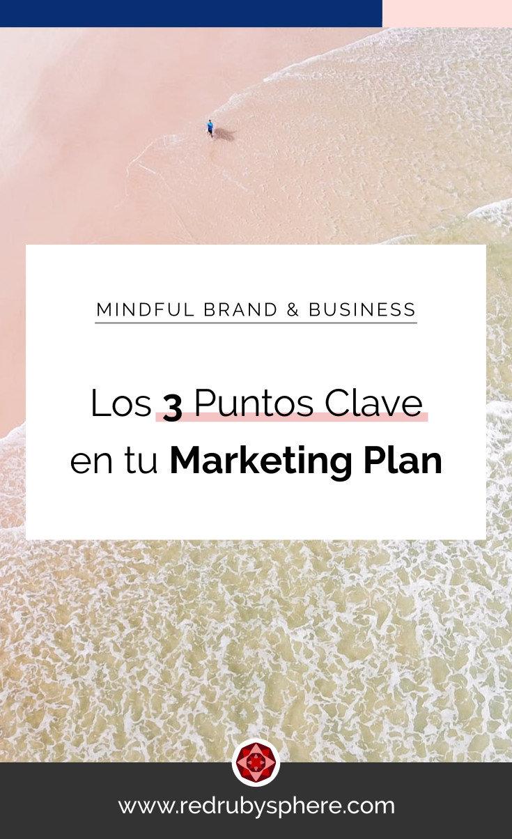 Los tres puntos claves de tu Marketing Plan | Red Ruby Sphere by Alma Seidel