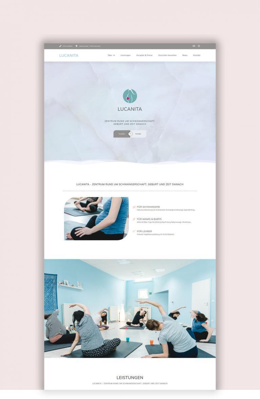Lucanita Yoga Studio | Refresh de Marca & Diseno Web por Red Ruby Sphere | Proyectos